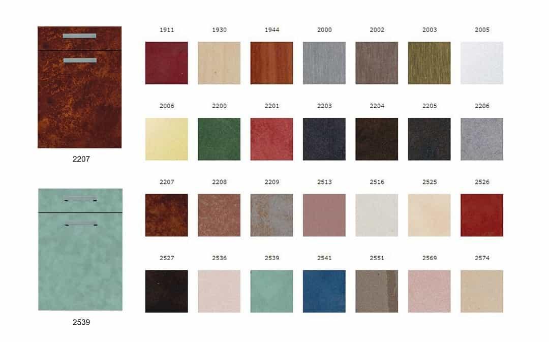 Фасады для мебели пластик Арпа